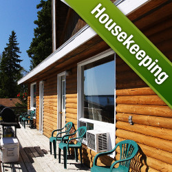 Make Reservation for Modern / Rustic Log Cabin Housekeeping Plan