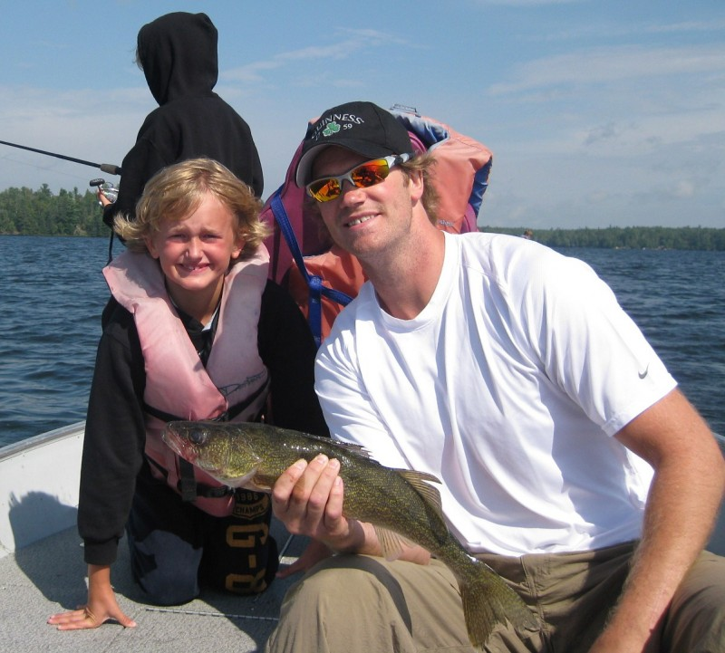 Chris Pronger Family Fishing Trip Cedar Point Lodge