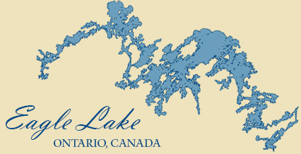 Fishing On Eagle Lake Cedar Point Lodge Eagle Lake Ontario - Ontario fishing lakes maps